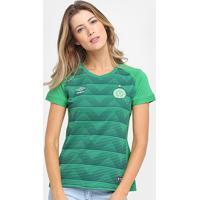 Camisa Chapecoense I 17/18 S/Nº Torcedor Umbro Feminina - Feminino