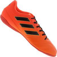 7ad5de7fac Chuteira Futsal Adidas Ace 17.4 In - Adulto - Laranja Esc Preto