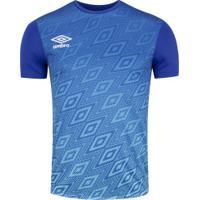 Camisa Umbro Twr Gradient Diamond - Masculina - Azul