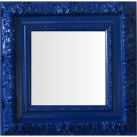 Espelho Moldura Rococó Externo 16250 Azul Art Shop