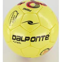 Bola Dalponte 32G Microfibra Prime Futsal Amarelo