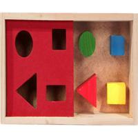Passa Figuras Caixa Com 4 Peças - Fundamental - Kanui