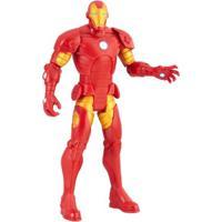 Figura De Ação Articulada - Avengers - Iron Man - Marvel - Hasbro - Masculino-Incolor