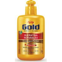 Creme De Pentear Niely Gold Queratina Reparação 280G