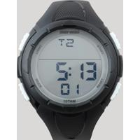d6c8c8bb538 CEA  Relógio Digital Mormaii Masculino - Mom148108B Preto - Único