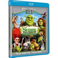 Shrek Para Sempre O Capitulo Final Blu Ray 3D + Blu Ray Filme Infantil