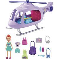 Boneca Polly Passeio De Helicóptero De Férias