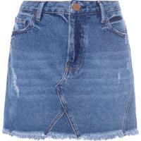 Saia Mini Hight Fit 13 - Azul