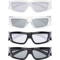 Rick Owens Larry Rick Sunglasses Set - Multi