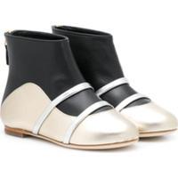 Malone Souliers Kids Madison Smalls Boots - Preto