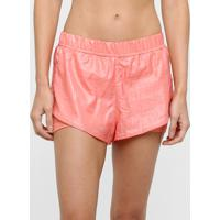 Short Fila Shine Light Fxt Feminino - Feminino-Coral