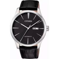 Relógio Citizen Automático Tz20788D Masculino - Masculino-Prata+Preto