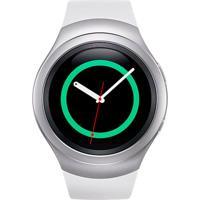 Smartwatch Samsung Gear S2 Sport Sm-R720 Prata Com Monitor Cardíaco E