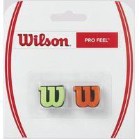 Antivibrador Wilson Pro Feel Verde E Laranja