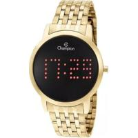 Relógio Champion Digital Ch40008V Feminino - Feminino-Dourado