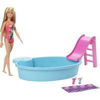 Boneca Barbie Piscina Chique