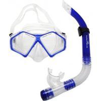 Kit Infantil De Mergulho E Snorkel Nautika Spider - Unissex