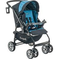 Carrinho De Bebê De 0 À 15Kg At6 K-Burigotto - Preto / Azul