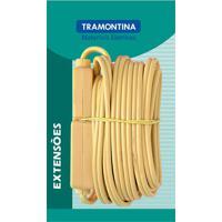 Extensão 5M Fio Paralelo 1Mm Bege 57410972 - Tramontina - Tramontina