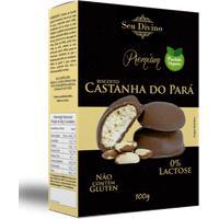 Biscoito De Castanha Do Pará Seu Divino 120G