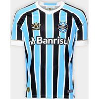 Camisa Grêmio I 18/19 S/N° Torcedor Umbro Masculina - Masculino