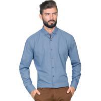 Camisa Hugo Rossi Xadrez Azul