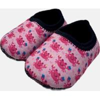 Sapato De Atividades E Natação Neoprene Ecoeplay Siri Rosa