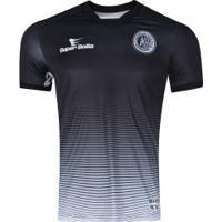 Camisa Do Asa De Arapiraca I 2019 Nº 10 Super Bolla - Masculina - Preto/Branco