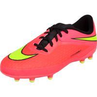 Chuteira Nike Campo Jr Hypervenom Phelon Fg Rosa 21cbb616b05ff