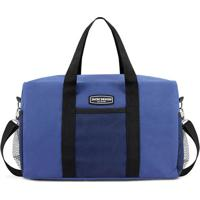 Bolsa De Viagem - Azul & Preta - 38X25X5Cmjacki Design