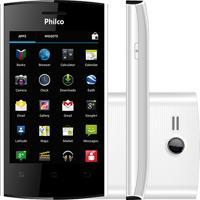"Smartphone Philco Phone 350 Branco - Dual Chip - Gps - 3Mp - Tela De 3.5"" - Android 4.0"