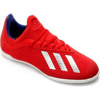 5569edc801353 Netshoes; Chuteira Futsal Infantil Adidas X 18.3 In - Masculino