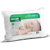 Travesseiro Altenburg Sono & Sa£De Baby Branco - 30Cm X 40Cm