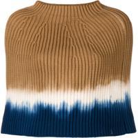 Sonia Rykiel Poncho Tie Dye - Neutro