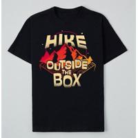 Camiseta Reserva Ink Hike Outside The Box Masculina - Masculino