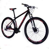 Bicicleta Venzo Aro 29 27V Camb Acera Susp Com Trava Freio Hidráulico - Unissex