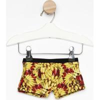 Sunga Bananas Com Solar Maxâ® Fpu 50+- Amarela & Vermelhablue Man