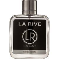 Perfume Gallant Masculino Edt 100Ml La Rive - Multicolorido/Prata - Masculino - Dafiti