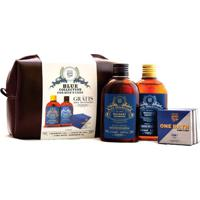 Kit Qod Shop Blue Colection Shampoo + Leave-In + Sabonetes