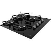 Cooktop Philco Cook Chef 4 Tc, 4 Bocas, A Gás, Bivolt, Preto - 105903007