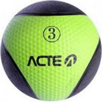 Bola De Peso Acte Sports T103 Medicine Ball 3Kg Verde