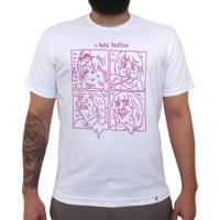 I Hate Beatles - Camiseta Clássica Masculina