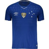 Camisa Umbro Cruzeiro I 2019 Patch Copa Do Brasil - Masculino