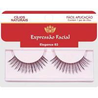 Cílios Naturais Expressão Facial Elegance Nº03