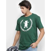 Camiseta Grizzly Premier Og Bear Masculina - Masculino-Verde