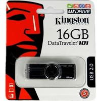 Pen Drive 16Gb Data Traveler 101 G2 - Kingston - Preto