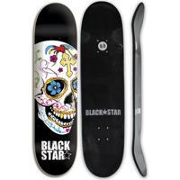 Shape De Skate Black Star Fiberglass Cruz 8.0 + Li 8 - Unissex