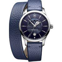 Relógio Victorinox Swiss Army Feminino Couro Azul - 241755