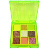 Paleta De Sombra 9 Cores Neon Jasmyne Verde B