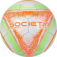 4079e9d1b0 Netshoes  Bola Futebol Society Penalty Storm C C Viii - Unissex